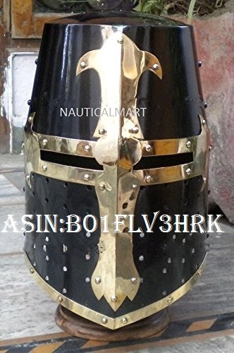 Nauticalmart Knight Templar Crusader Armour Helmet