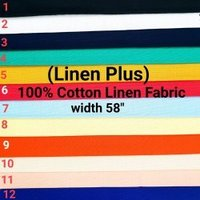 Cotton Linen Plus Shirting Fabric