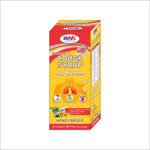 Ayurvedic Cough Syrups Application: Water