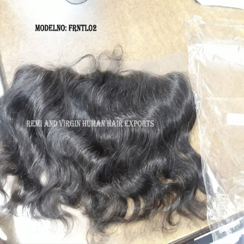 Frontal India Cuticle Aligned Human Hair