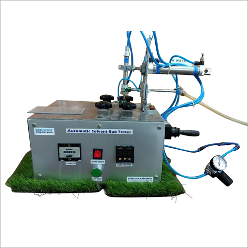 Automatic Solvent Rubber Tester