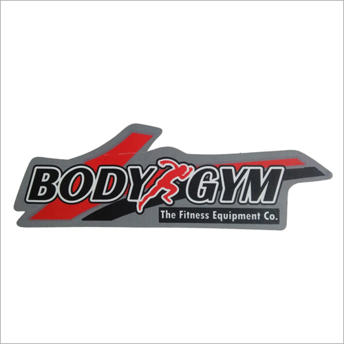Gym Accessories Sticker