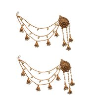 Yellow Metal Dangle & Drop Fashion Earring Women