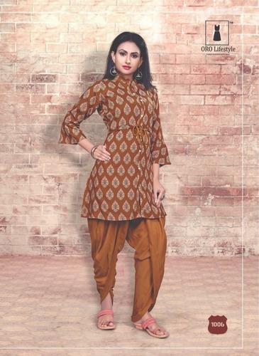 Designer Dhoti Kurti