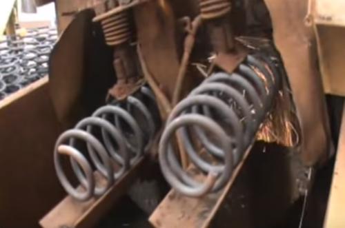 Automation in Suspension Spring Machine