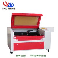 CO2 Acrylic PVC Plastic Cutting Machine