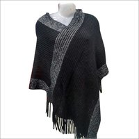 Women Wool Poncho