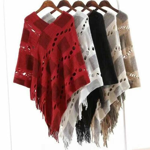 Woolen Poncho for Ladies