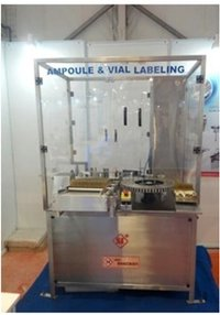 Automatic Self Adhesive Rotary High Speed Vial/Ampoule Labelling  Machine