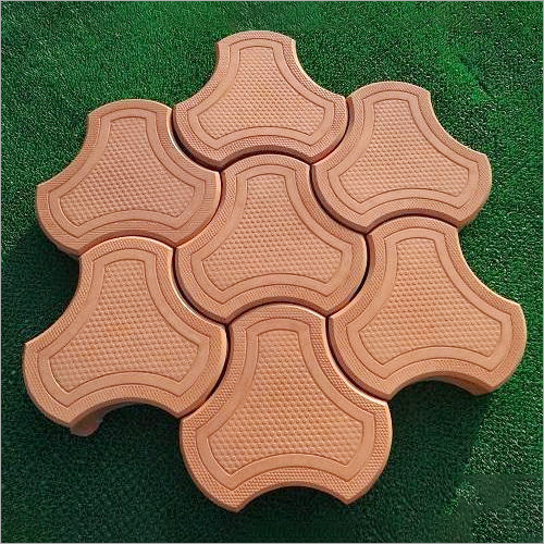 Cosmic Shape Interlocking Paver