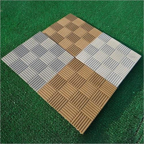 Chess Board Shape Interlocking Paver