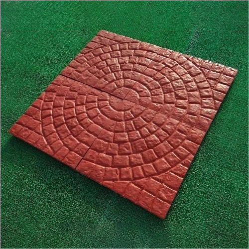 Circle Shape Interlocking Paver