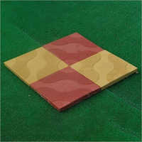 Wave Shape Interlocking Paver