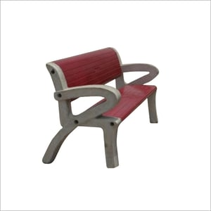 Concrete Bench With Arm