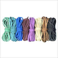 Flat Suede Leather Cords