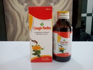 Cough Reliever Enriched With Honey & Tulsi