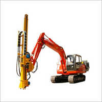 Excavator Drill  Rig