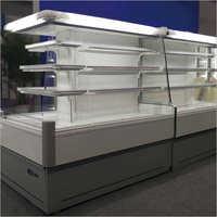 Island Open Show Case Refrigerator