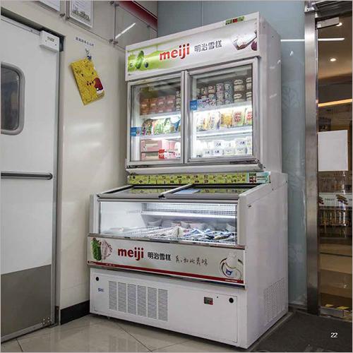 Refrigerated Ice Cream Display Cabinet