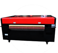 80W/100W auto feeder 1410 CNC Laser Engraving Machine CO2 Laser Cutter for Nonmetal Cloth plastic