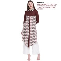 straight cotton kurti