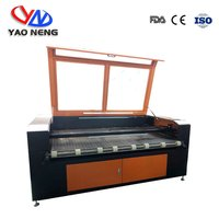 1410 Auto Feeding CO2 Laser Engraver CNC Cutter for Cloth Leather Fabric Cutting 80W 100W 130W Option