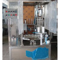 Rotary Cup Filling And Sealing Machine - 4 Line