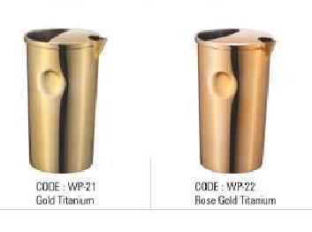 Gold & Rose Gold Titanium