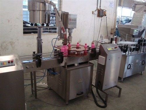 Automatic Single Head Flip off Capping Machine