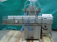 Automatic Volumetric Four Head Hair Oil Filling Machine
