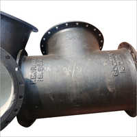 ALL FLANGED TEE 600 MM DIA IS: 9523