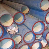 DUCTILE IRON PIPE WITH BLUE EPOXY COATING