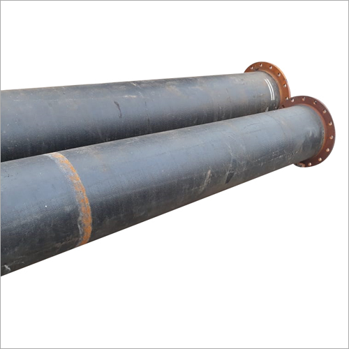 DUCTILE IRON PIPE WITH FLANGED ENDS IS: 8329