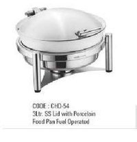 3Ltr SS Lid With Food Pan Fuel Operated