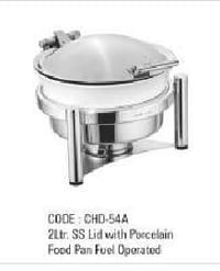 2Ltr SS Lid With Food Pan Fuel Operated