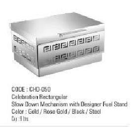 Celebration Rectangular Slow Down Mechanism With Designer Fuel Stand