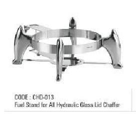 Fuel Stand For All Hydraulic Glass Lid Chaffer