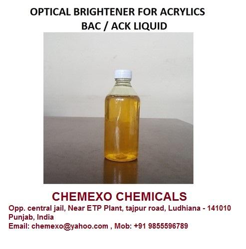 Optical Brightener Acrywhite-BAC LIQ For Acrylics