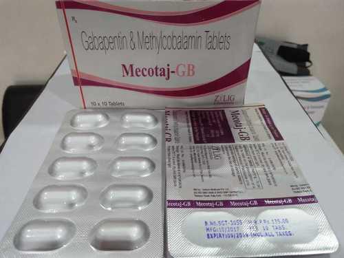 Mecobalamin 500Mcg + Gabapentin 300 Mcg