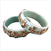 Designer Beaded Bangle Set