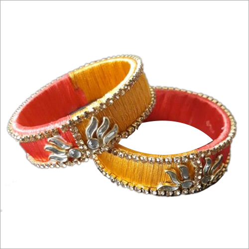 Designer Stone Studded Bangle Set