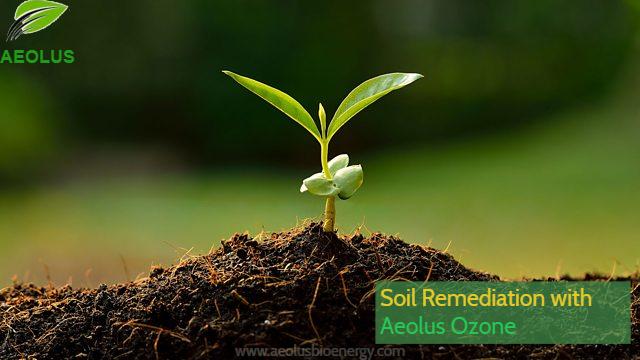Soil Remediation with Ozone by Aeolus