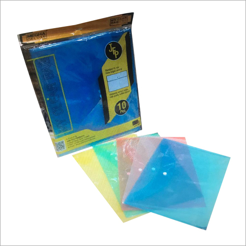 Pvc Clear Bag File Folder