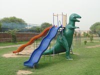 Children Dinosaur Slide