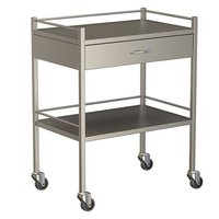 One Drawer Instrument Trolley 750X490X900