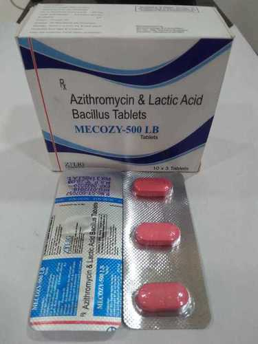 Azithromycin 500 Mg & lactic acid bacillus