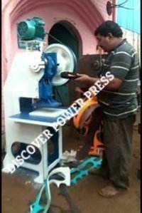 Hawai Chappal Slipper Cutting Machine