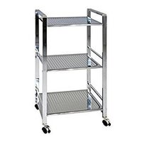 Silver Stainless Steel Properated Trolly