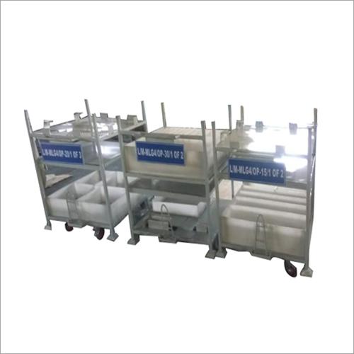 Industrial Stackable Metal Pallets