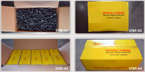 Drywall Screws Small color boxes packing